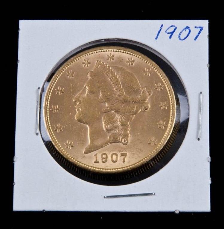 16: 1907 Liberty $20 Gold Piece