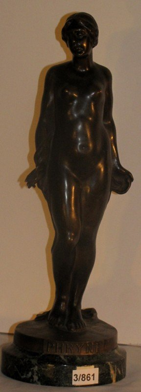 339: After Paul Dubois, Belgian 1827-1905, Phryne, bron