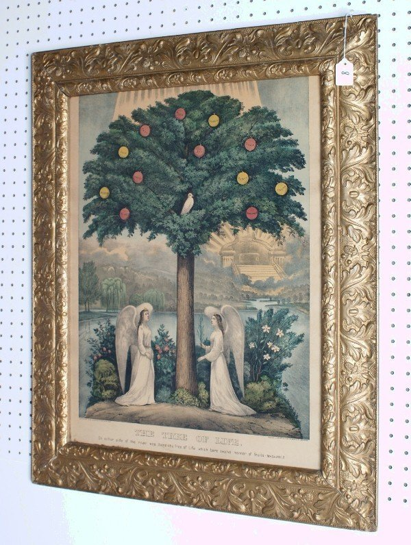 8: Tree of Life by Currier & Ives, 1892, 115 Nassau Str