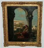 156: Victor Eeckhout, Belgian 1821-1879, Woman of Tangi