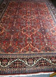 224B: Palace size early   Persian  Mahal carpet.