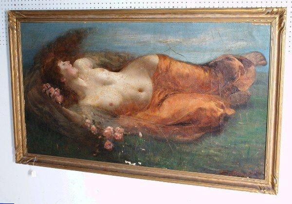 """154: Solomon Joseph Solomon, British 1860-1927, """"Eve"""""""