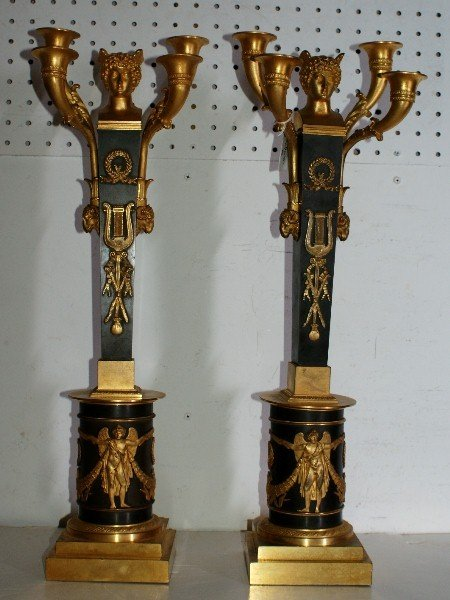6: Important pair of 19th century Russian/Polish ormolu