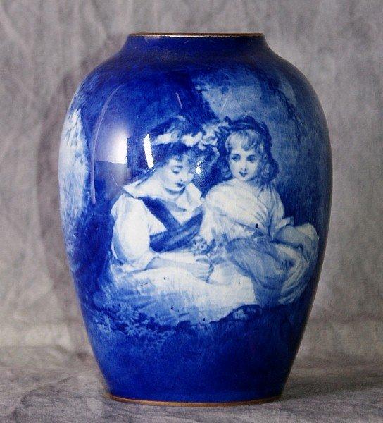 """5: Royal Doulton portrait vase. 6"""""""