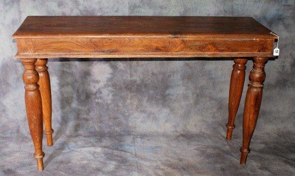 21: Sheraton style sofa table 19/20th C