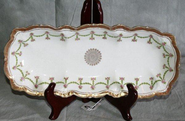2: Austrian porcelain tray