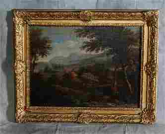 95A: 17th C old master oil on canvas