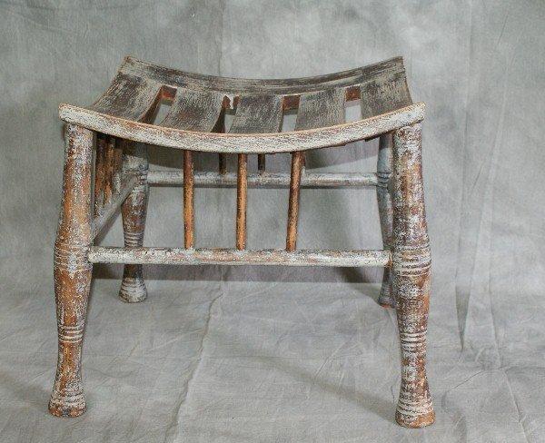 91A: 19th C primitive bench