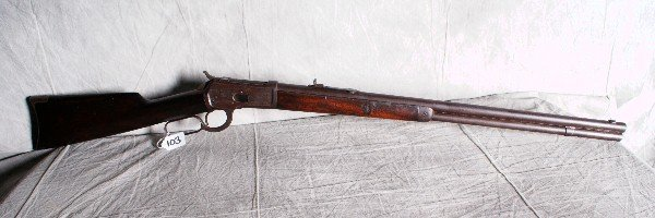 103: Antique Winchester model 1892. Pat october 14 1884