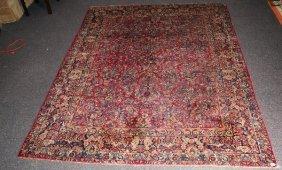Antique Persian Sarouk. 11'7 X 8'8