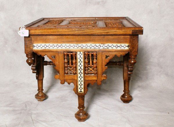 Late 19th C Moroccan table