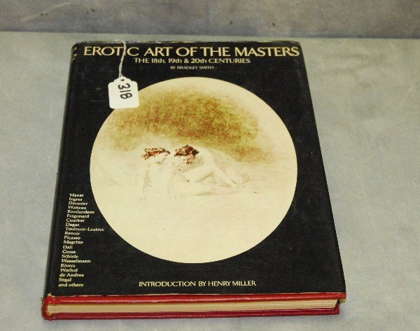Book of Erotc art of the masters.