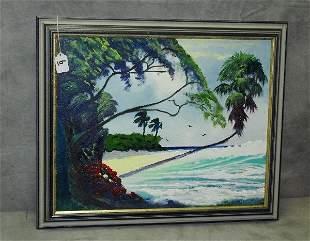 Rodney Demps Florida Highway men born Nov 9th 1953 oil