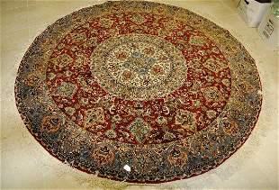 "Persian round oriental rug. D:74"""