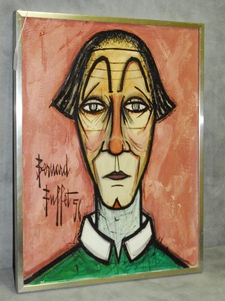 Bernard Buffet ( 1928-1999 ) oil on canvas signed and