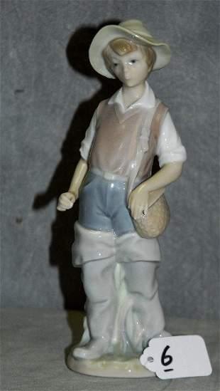 """Lladro porcelain figure. H:8.5"""""""