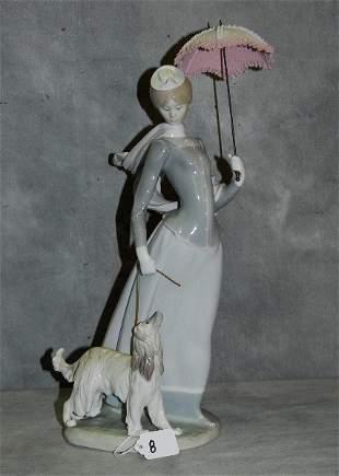 "Large Lladro porcelain figure . H:17"""