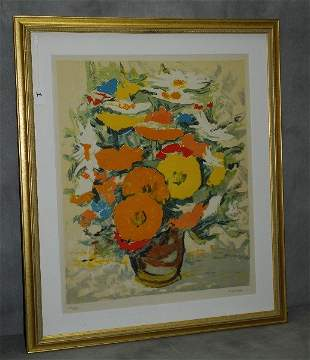 Renee Theobald (1926-) pencil signed and numbered print