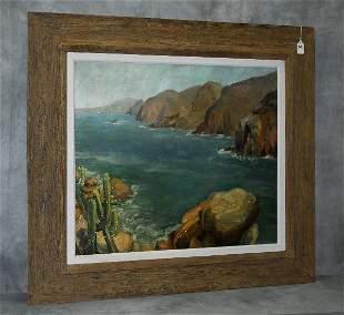 Angelina Stella Modesti (1894-1980) oil on canvas of