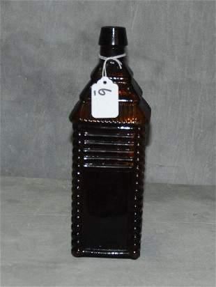 1860 Plantation log cabin bitters bottle. .