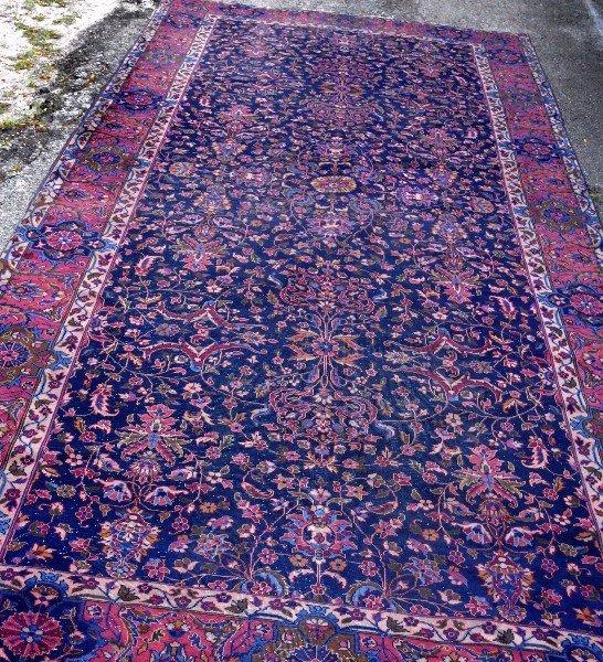 Palace size Oriental rug. 20' x 9'