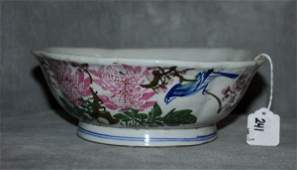 Chinese 19th C porcelain bowl