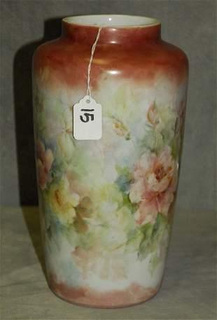 Bareuther Waldsassen Bavaria German porcelain vase.