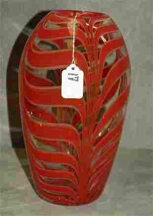 """Murano glass vase. H:11"""""""
