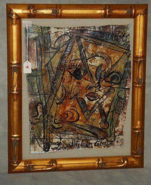 Alexander Gore Russian American artist oil painting.