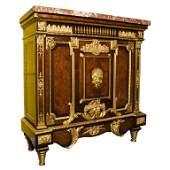 Louis XVI Style ormolu-mounted kingwood Meuble D'Appui,