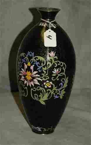 "Chinese cloisonne vase. H:12.5"""