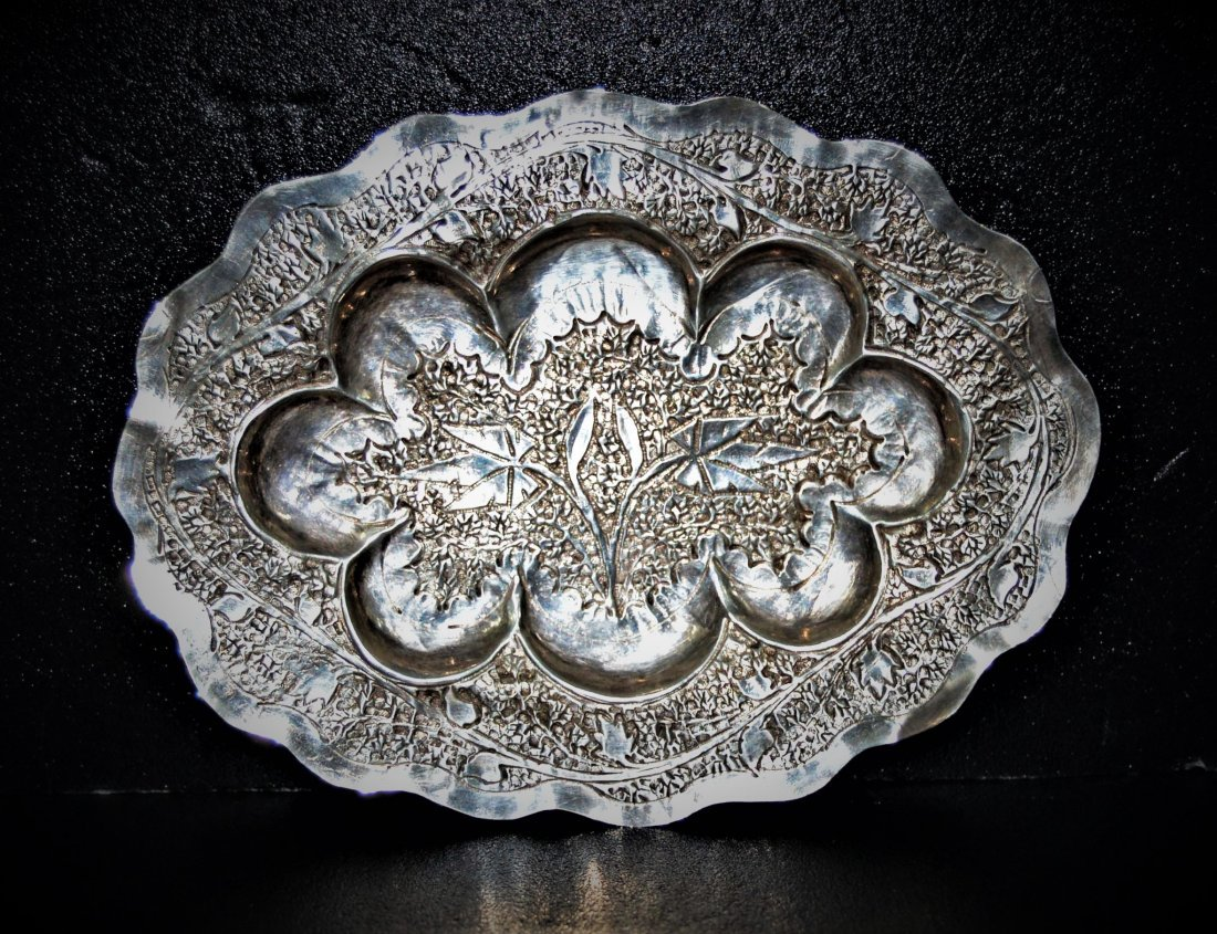 India/Central Asia Silver Decorative plate 20th Century