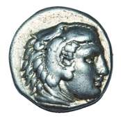 KINGS OF MACEDON ALEXANDER III 336323 BC AR DRACHM