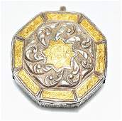 RARE ANTIQUE MUGHAL/QAJAR SILVER GOLD QURAN CASE/BOX