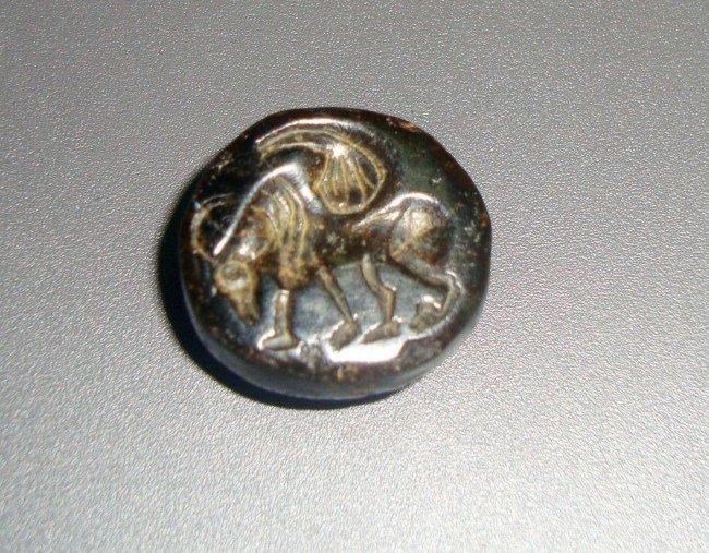 15: Sassani Seal Bull