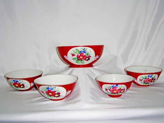 19: A Group of Gardinar Bowl