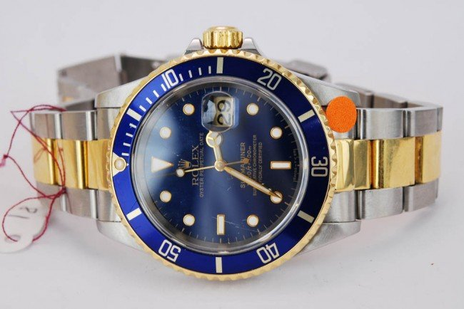 81: Rolex 18k & SS SUBMARINER WITH DATE