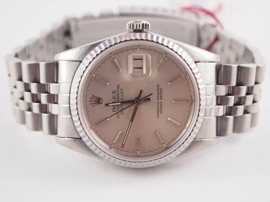 10: Rolex Mens SS Datejust w Jubilee Bracelet.