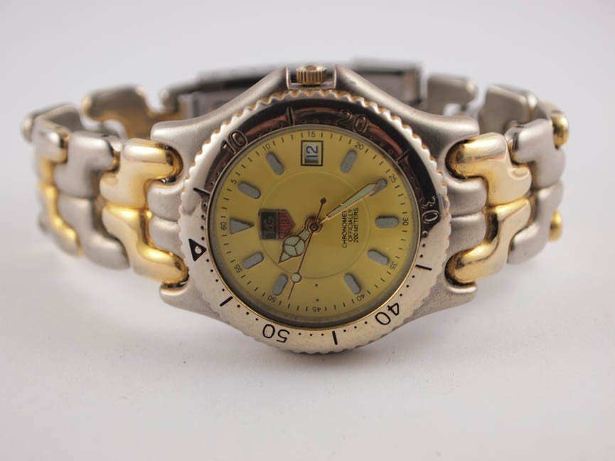 11: Tag Heuer Mens Two-Tone Watch