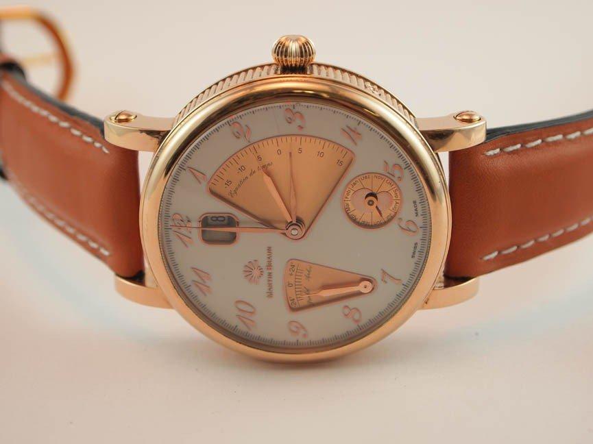 72: Martin Braun Mens 18k Watch. Automatic. $42,000 Ret