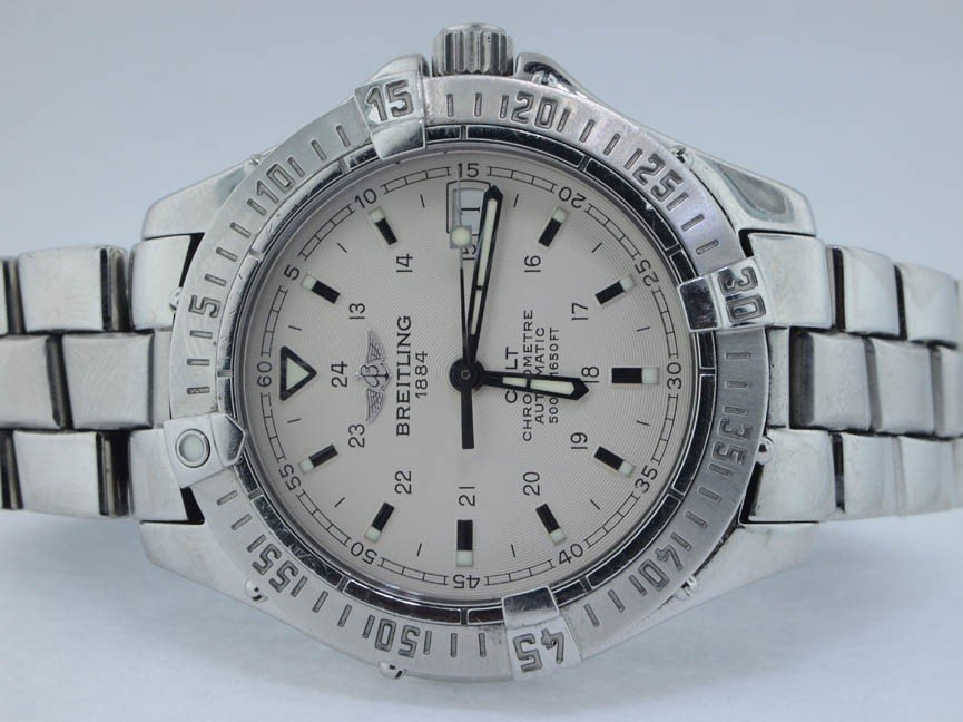 4: Breitling Mens Stainless Steel Colt. Automatic