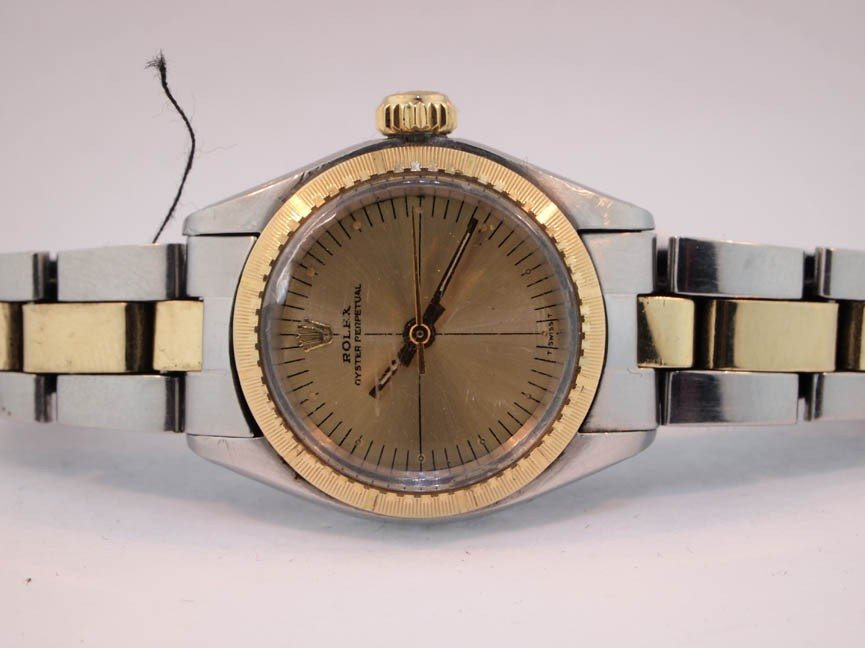 17: Rolex Ladies Gold and Stainless Steel Oyster Perpet