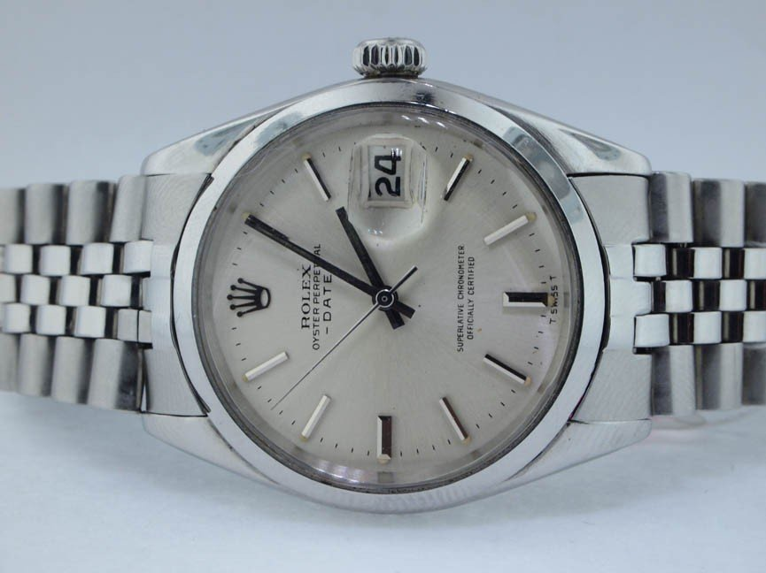 21: Rolex Stainless Steel Oyster Perpetual Date with Ju