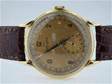 114: Vacheron & Constantin Mens Vintage 18k Annual Cale