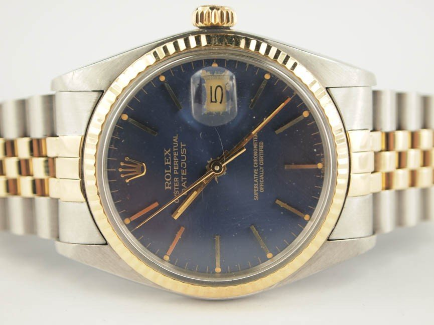 2: Rolex Mens 18k and Stainless Steel Datejust.