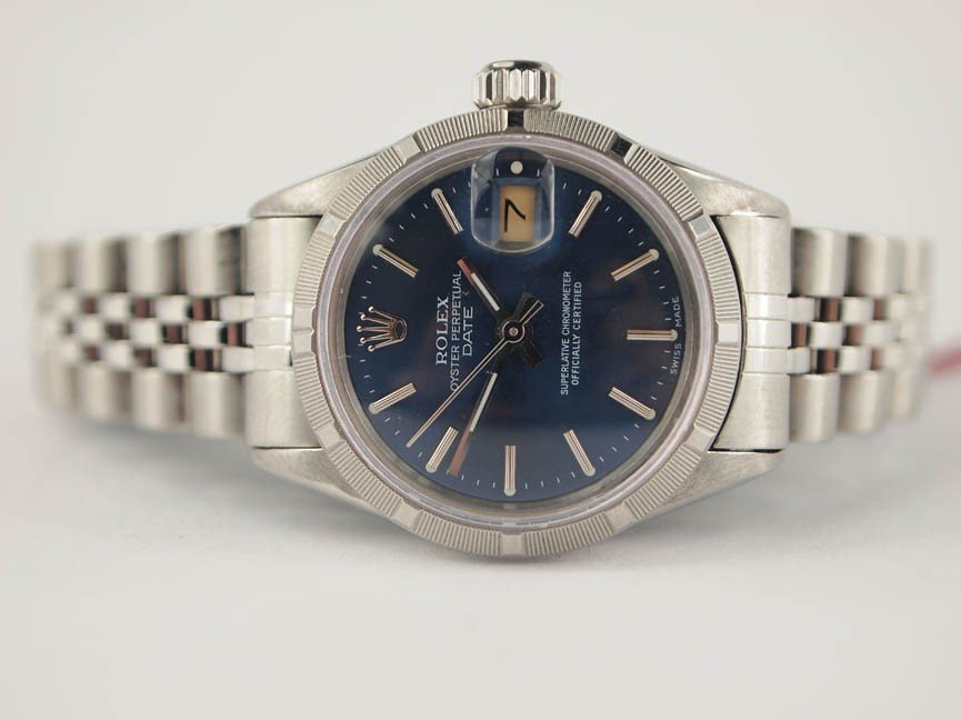 10: Rolex Ladies Stainless Steel Datejust.