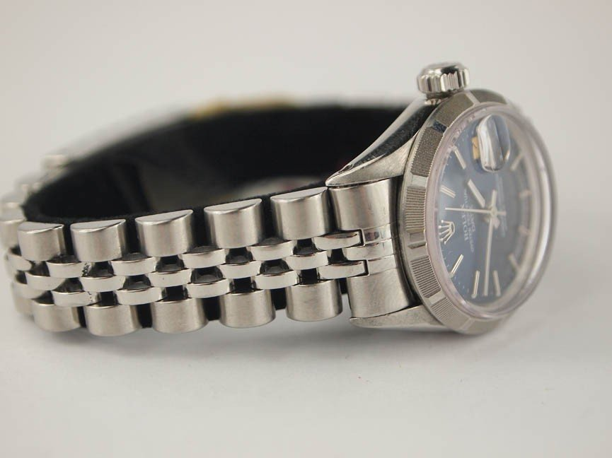 10: Rolex Ladies Stainless Steel Datejust. - 2