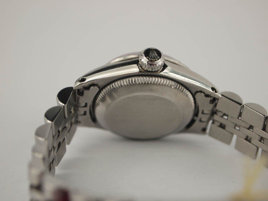 10: Rolex Ladies Stainless Steel Datejust. - 3