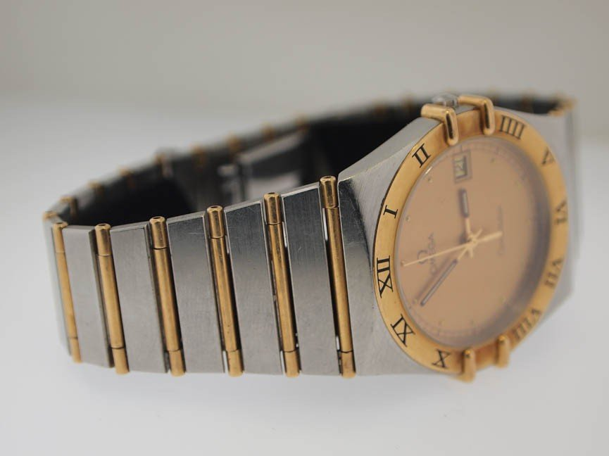 24: Omega Mens 18k and SS Constellation. - 3