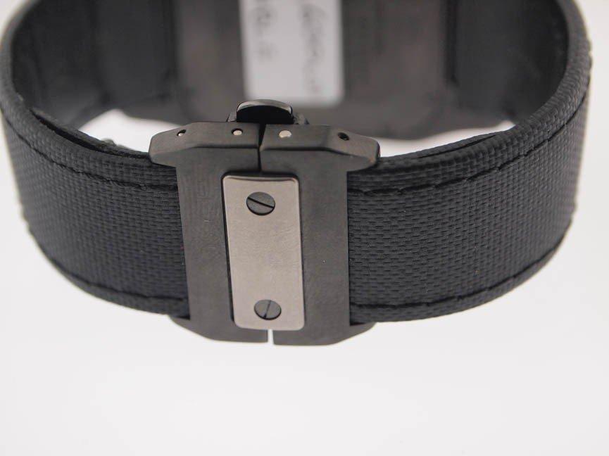 138: Cartier Mens Jumbo Santos 100 Chronograph Titanium - 5